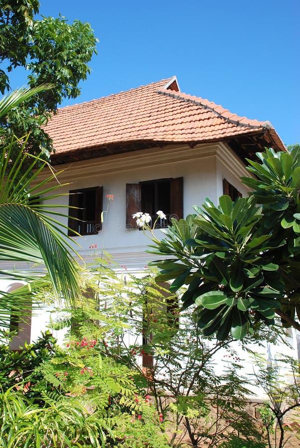 HOME do jardim fotografia de stock
