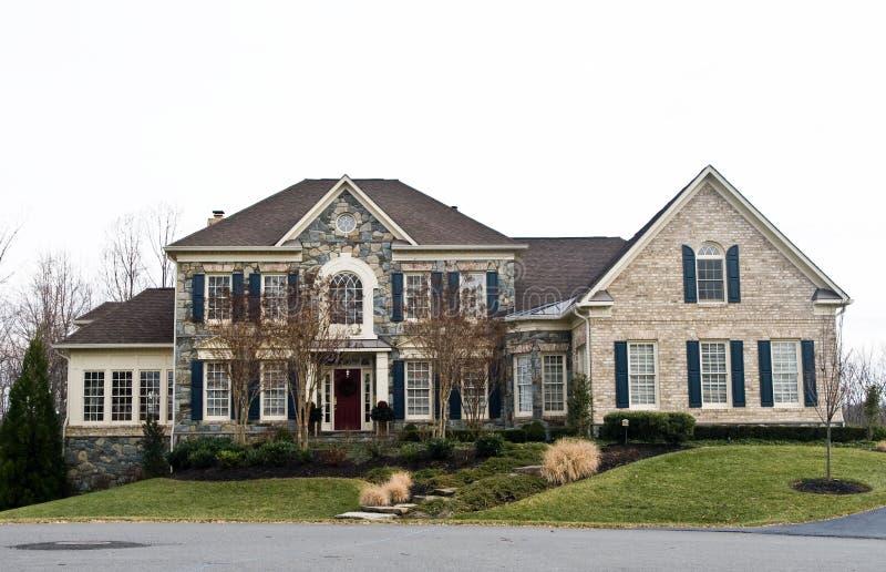 HOME do norte de Virgínia foto de stock royalty free
