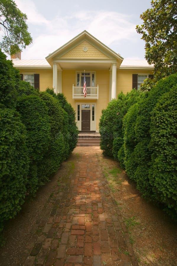 HOME do presidente James Monroe fotografia de stock