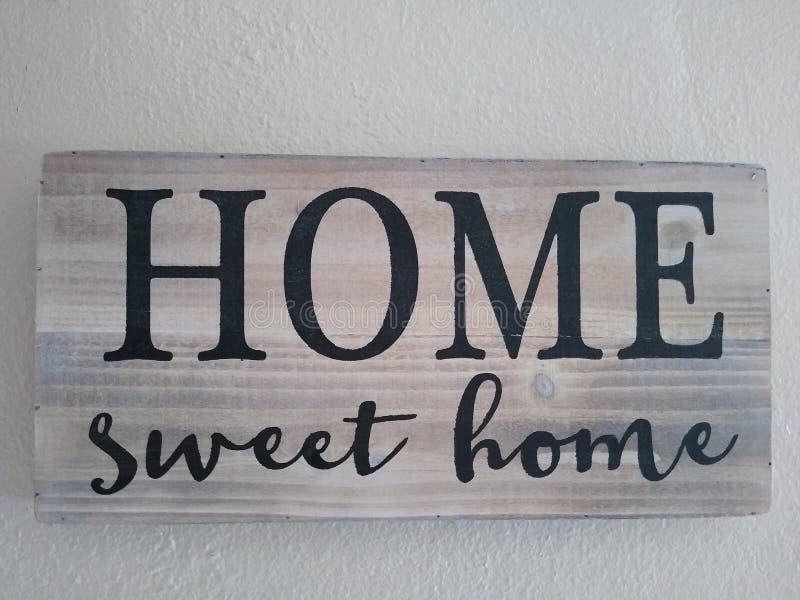 HOME doce imagens de stock