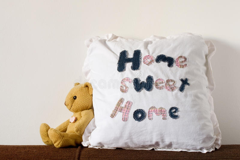 HOME doce Home foto de stock royalty free