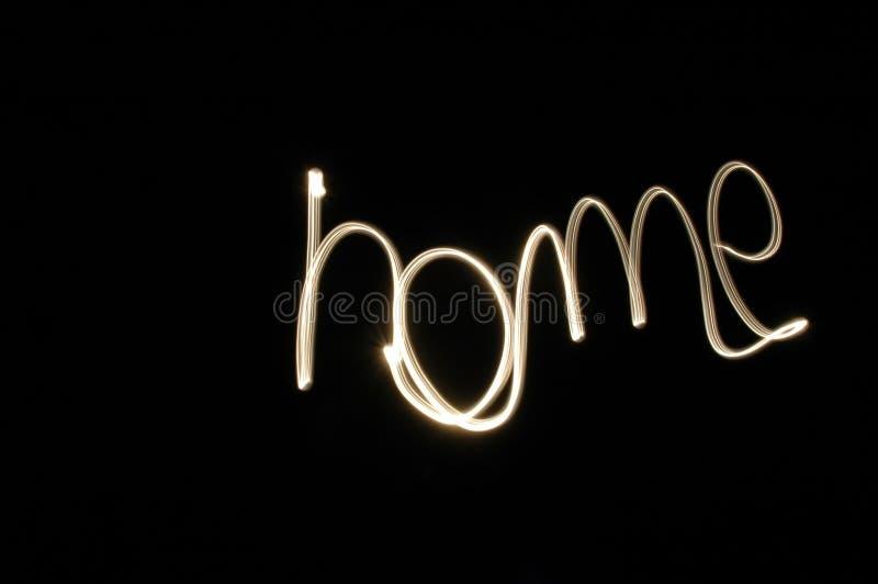 HOME doce Home foto de stock