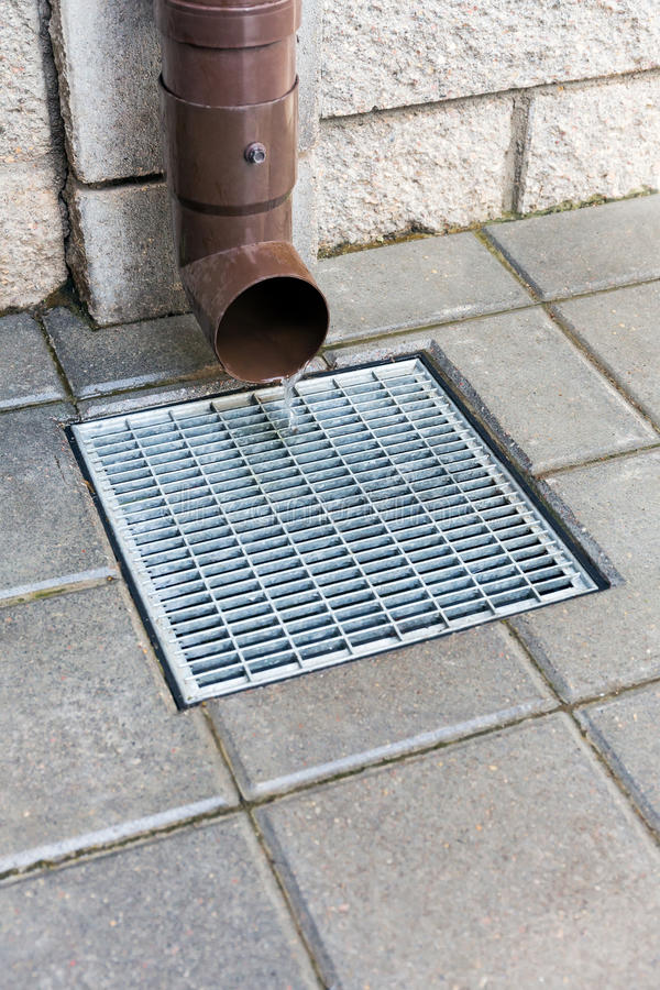 Home Downspout Stock Photo Image Of Building Outdoors