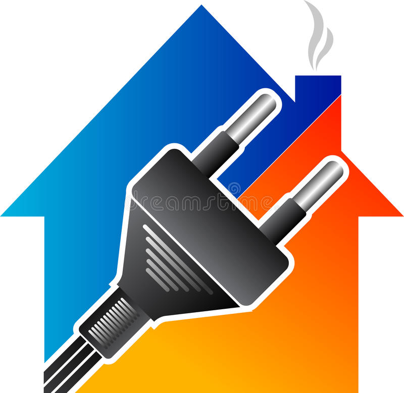 Home Electrical Plug Royalty Free Stock Photography