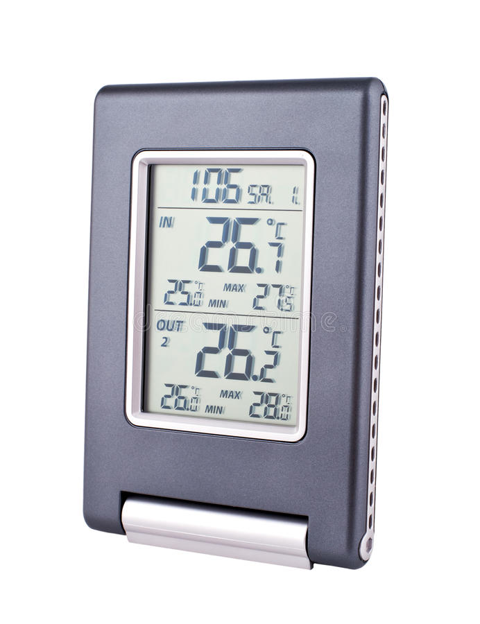 Download Home Electronic Thermometer Stock Photo - Image: 18245788