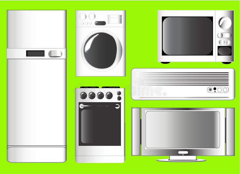 Home electronics icon vector royalty free illustration