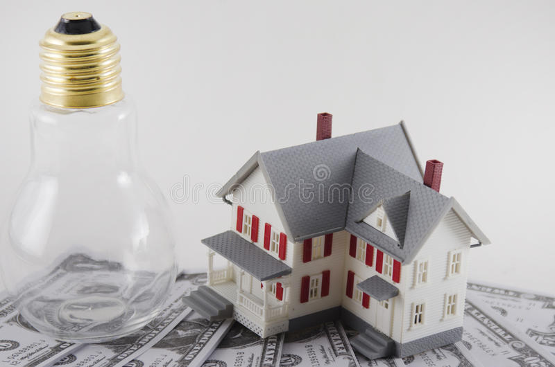 Home Energy Savings royalty free stock photo