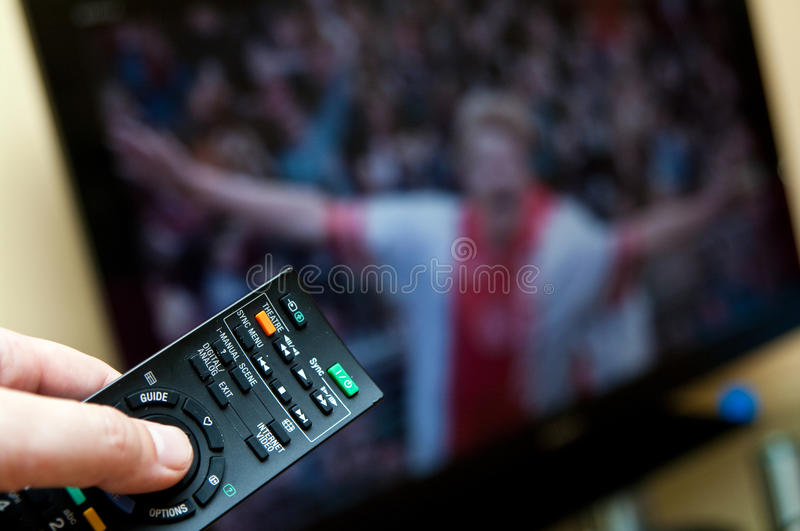 Home entertainment royalty free stock image