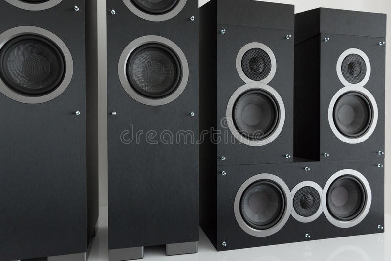 Home Entertainment Speaker royalty free stock photos