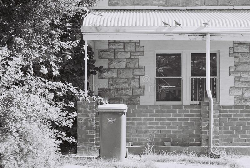 Home Exterior In Black And White Free Public Domain Cc0 Image