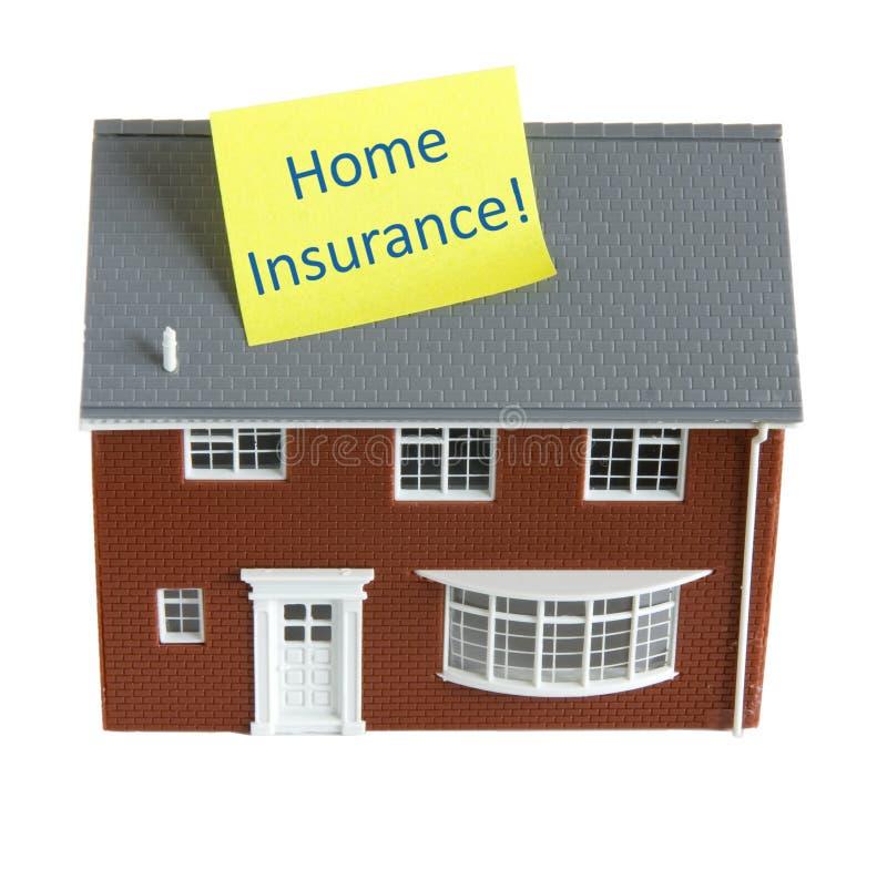 home försäkring arkivfoto