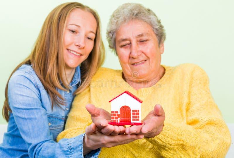 home försäkring royaltyfri foto