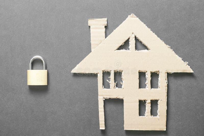 home försäkring arkivbild