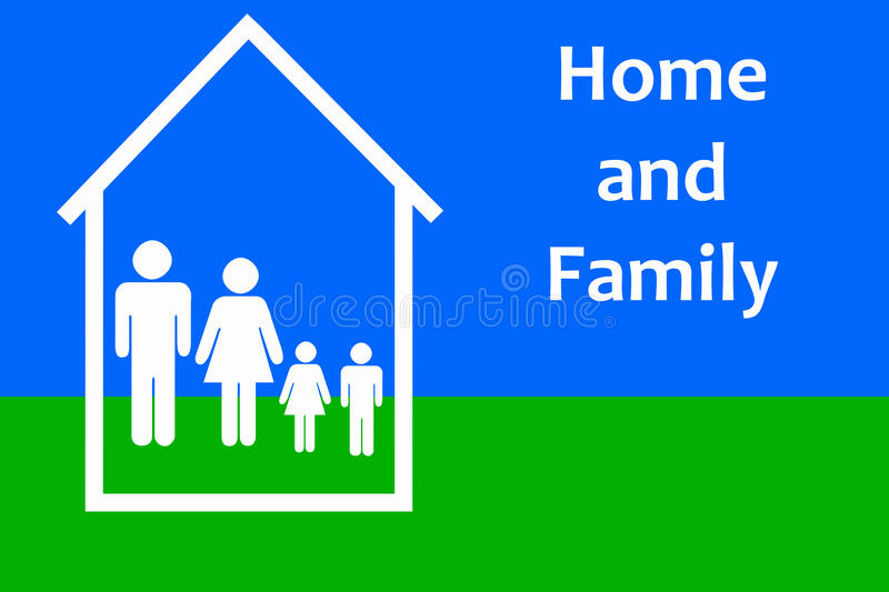 Download Home and family stock illustration. Illustration of expensive - 21574130