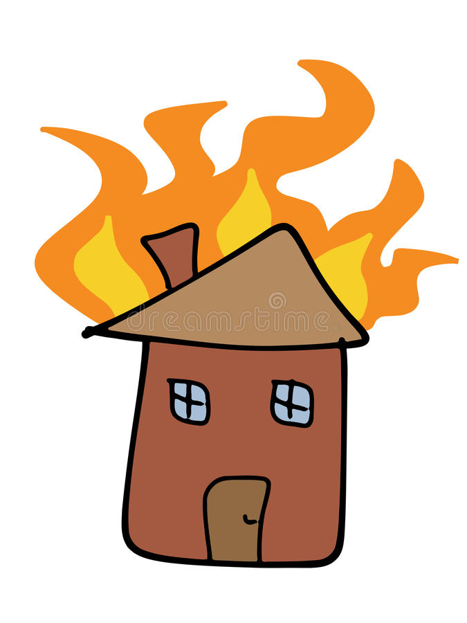 Download Home Fire Royalty Free Stock Image - Image: 21173016