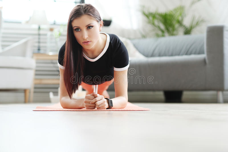Home fitness stock images