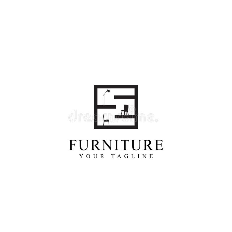 Free Home Furniture Logo Illustration Stock Images - 123091724