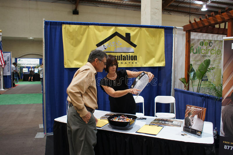 Download Home And Garden Show/Trade Show Editorial Stock Photo - Image: 21700723