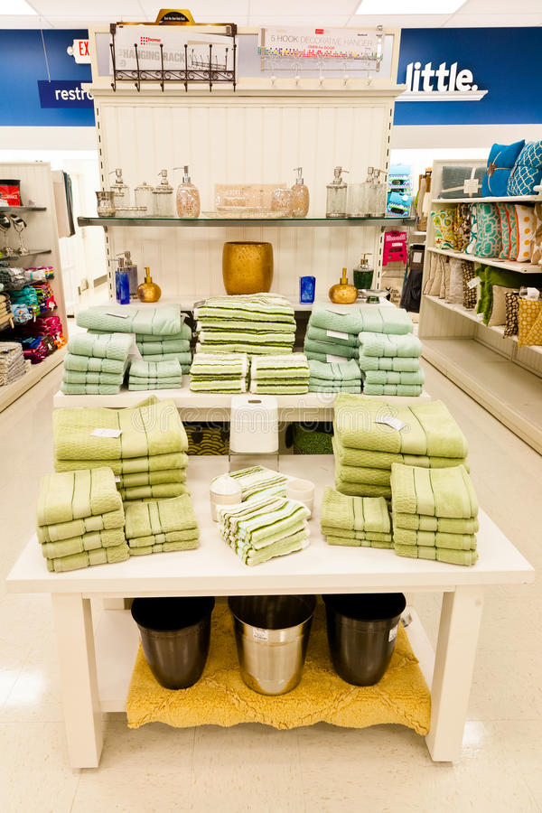 Home Goods: Bathroom Decorations Editorial Stock Image