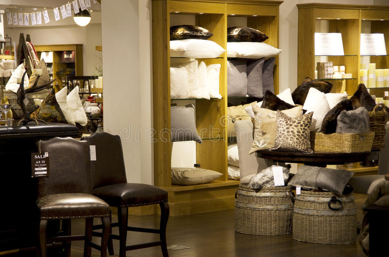 Home goods store royalty free stock images