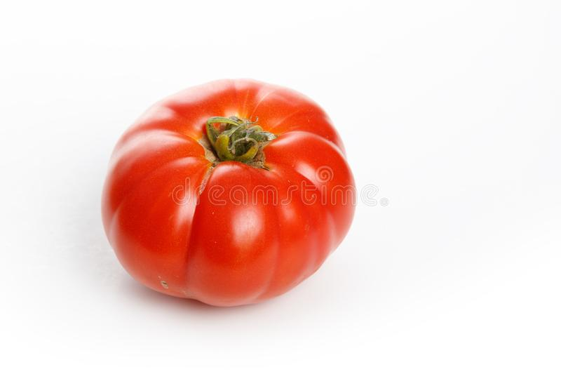 Home grown tomato. At Vancouver BC Canada stock images