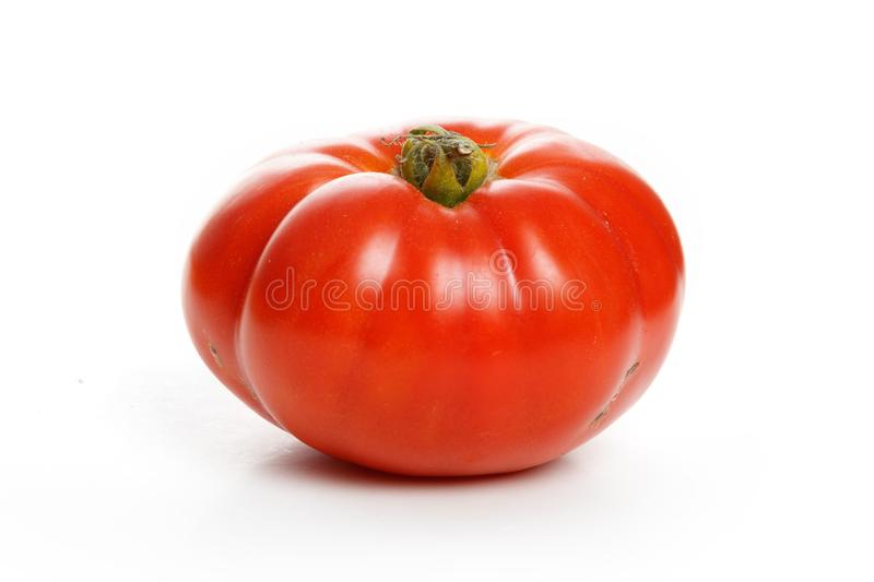 Home grown tomato royalty free stock photography