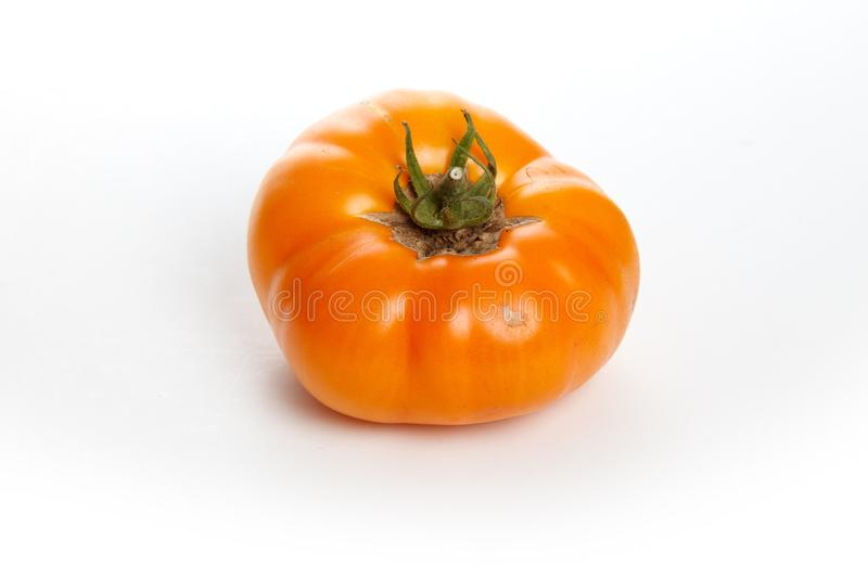 Home grown tomato royalty free stock photo