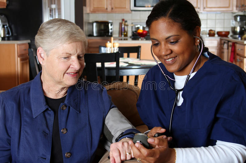 Download Home Health Care stock photo. Image of helping, retired - 19165798