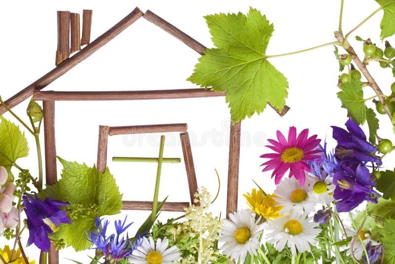 HOME, HOME doce? imagem de stock