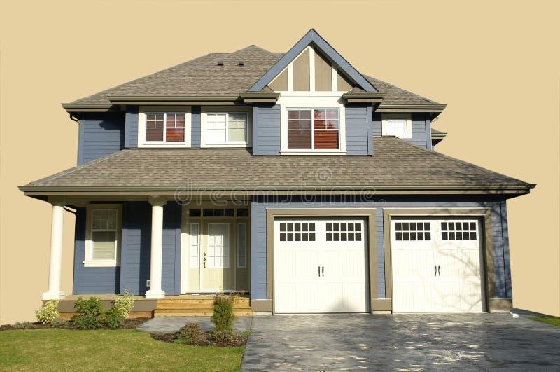 Home House Isolated stock photos