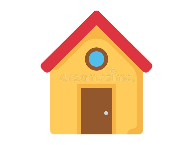 Home vector icon sign symbol stock illustration