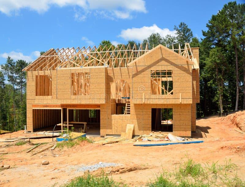 Home, House, Log Cabin, Construction royalty free stock photos