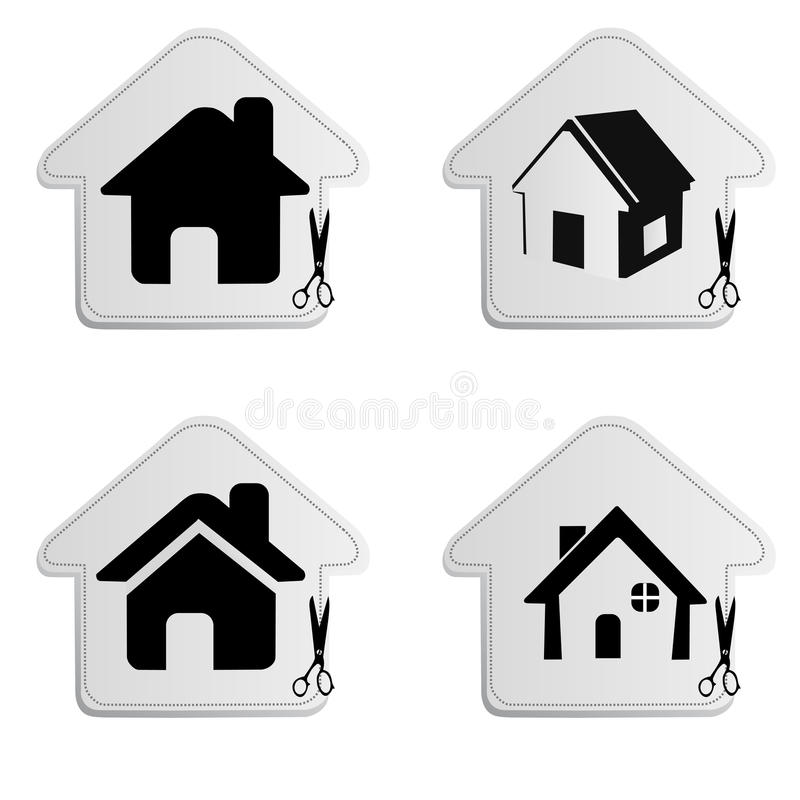 Download Home icon stock vector. Image of illustration, real, design - 26273832