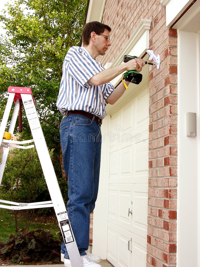 Download Home Improvement (3) stock image. Image of house, employee - 163589