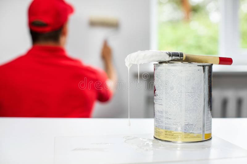 Home improvement interior painting royalty free stock images