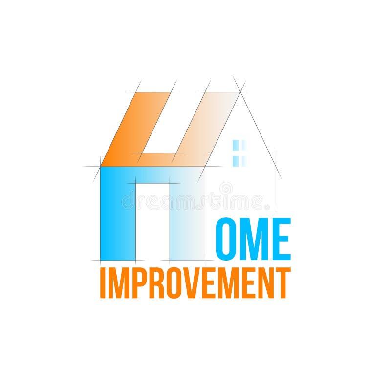 Home improvement logo vector illustration
