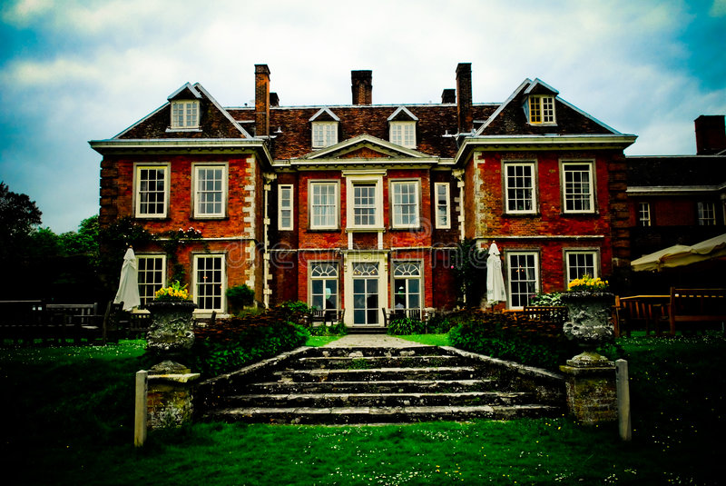 HOME inglesa esplêndido foto de stock royalty free