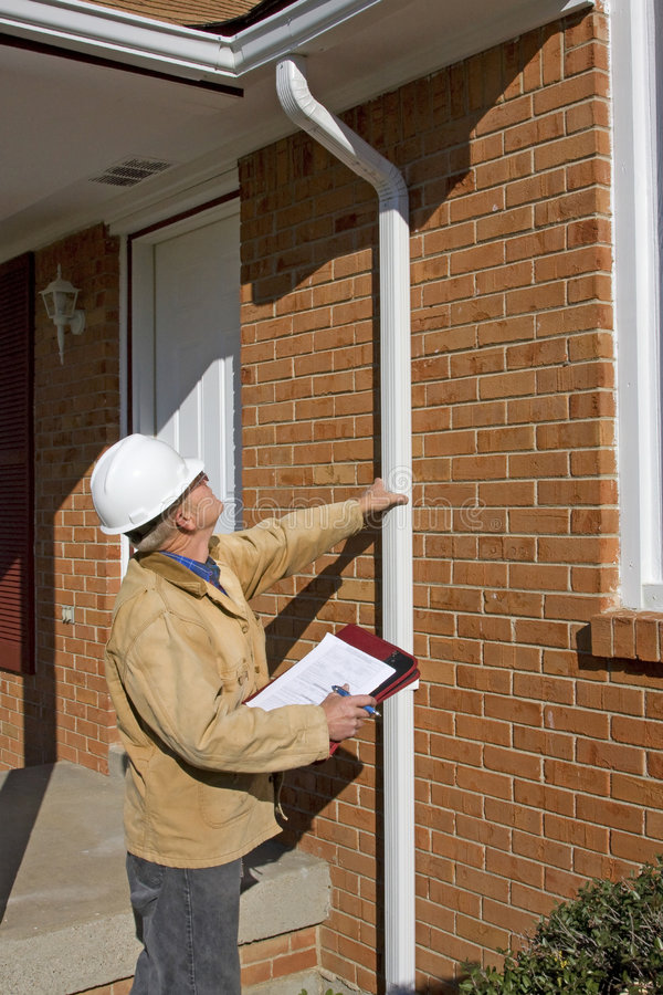 Home inspector stock image