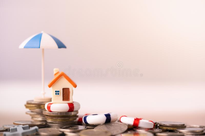 Home insurance concept. royalty free stock images