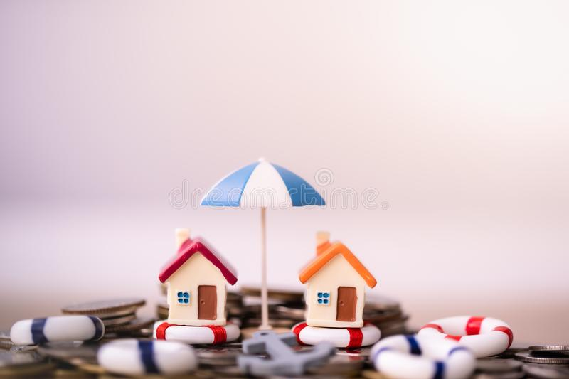 Home insurance concept. royalty free stock photos