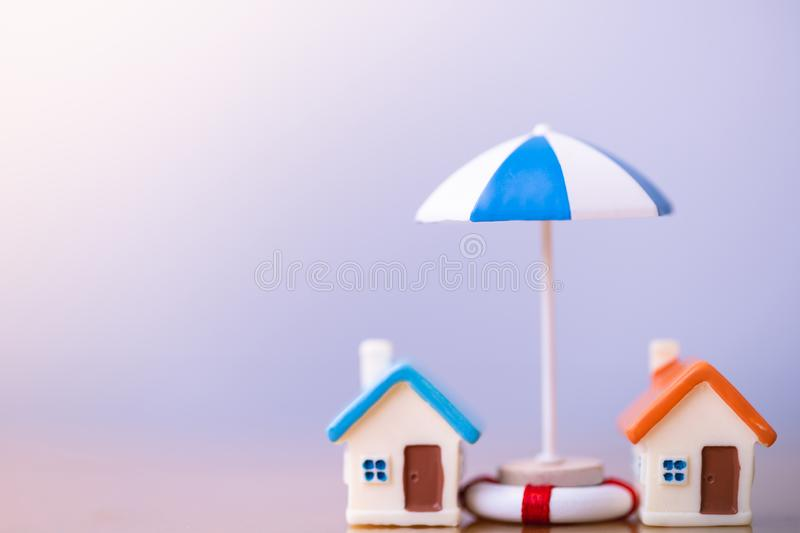 Home insurance concept. royalty free stock photo