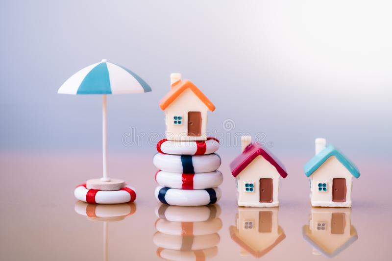 Home insurance concept. royalty free stock image
