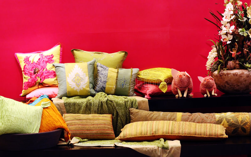 Home interiors stock photo