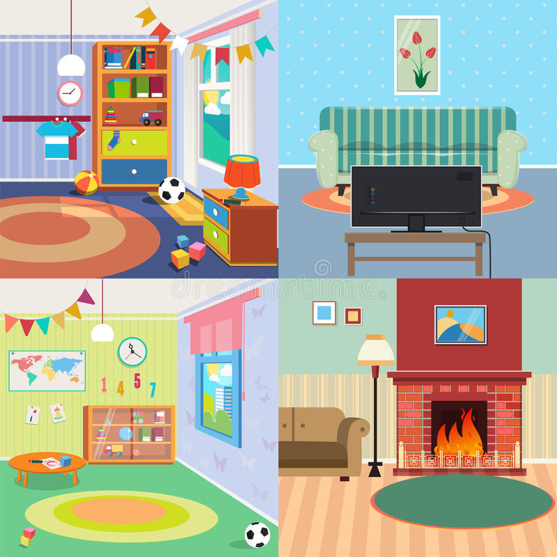 home interiors kids home interiors set children bedroom interior living room 12328
