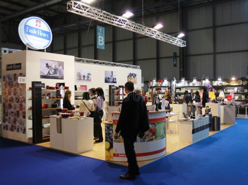 home internationell macefshow 2010 för utställning arkivbild