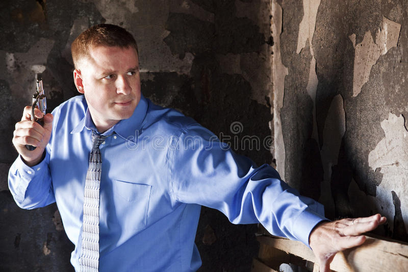 Home Invasion royalty free stock photography