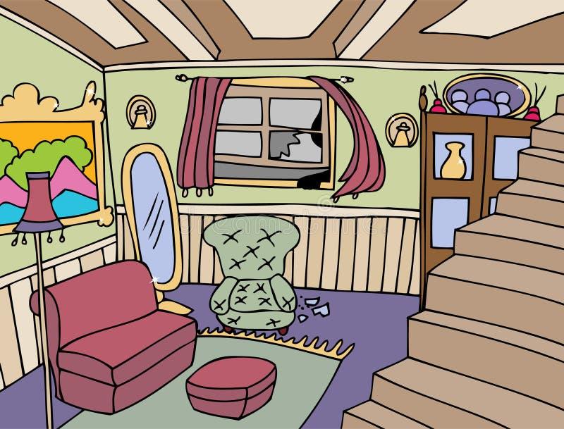 Home Invasion royalty free illustration