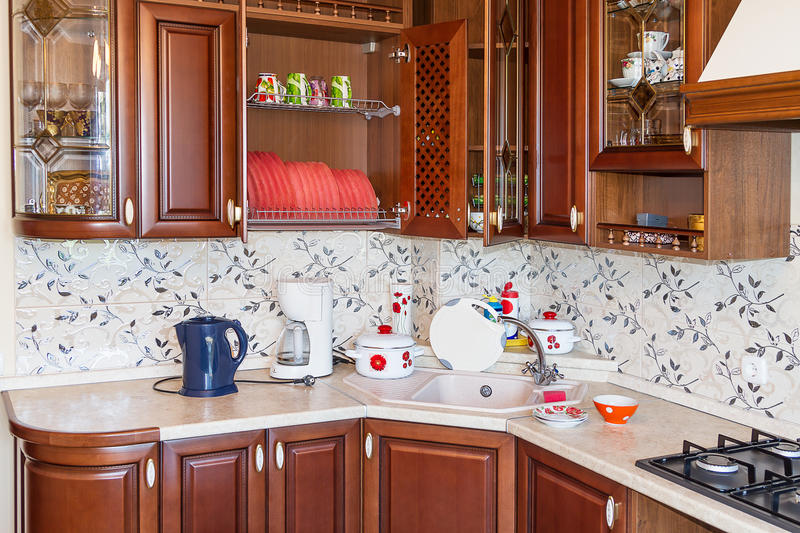 Download Home Kitchen Royalty Free Stock Images - Image: 27426559
