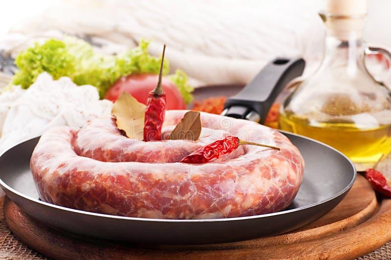 Download Home Korv I En Stekpanna, Peppar Arkivfoto - Bild av förberedelse, hamburgare: 27283832