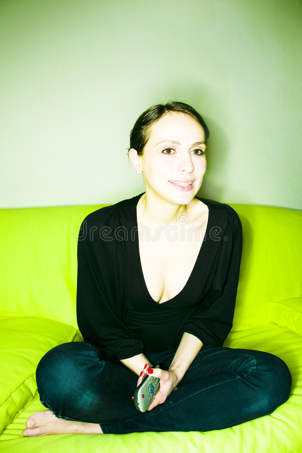 home kvinna arkivfoton